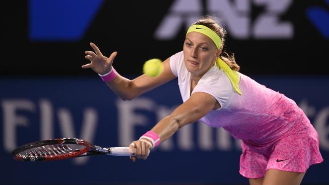 Petra Kvitová vypadala v Australian Open ve třetím kole