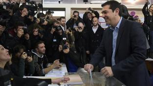 Asi není těžké uhádnout, komu dal Alexis Tsipras svůj hlas