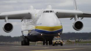 An-225 Mrija, největší letoun na světě