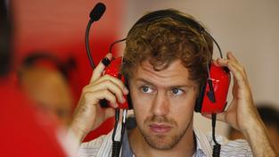 Sebastian Vettel při testech stáje Ferrari