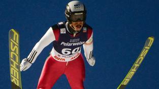 Roman Koudelka při závodu SP v německém Willigenu