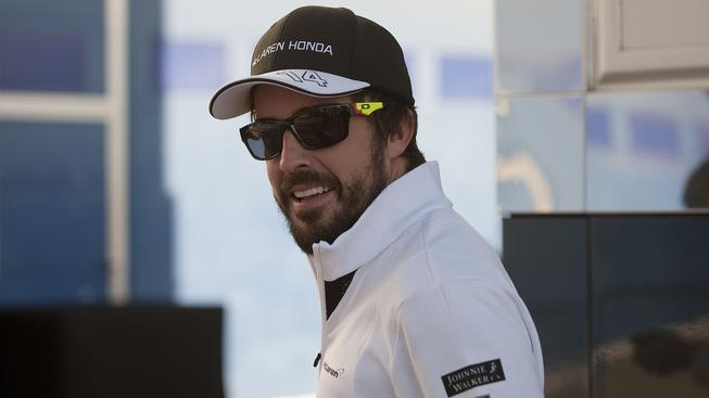Pilot stáje McLaren Fernando Alonso