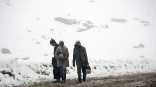 Laviny nejsou v Afghánistánu nijak výjimečné
