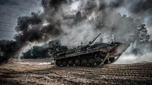 Nácvikové manévry ukrajinské armády, ilustrační snímek