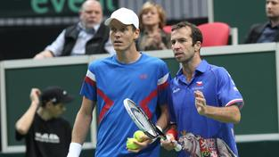 Tomáš Berdych a Radek Štěpánek si tentokrát Davis Cup nezahrají.