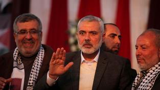 Jeden z čelních představitelů Hamasu Ismail Haniyeh