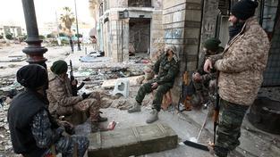 Vojáci loajální mezinárodně uznávané vládě v neklidném Benghází