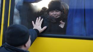 Krajané prchají z Ukrajiny kvůli strachu z války, ilustrační snímek