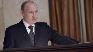 Ruský prezident Vladimir Putin promluvil k vedení FSB