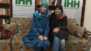 Dívky se podařilo osvobodit turecké neziskové organizaci IHH
