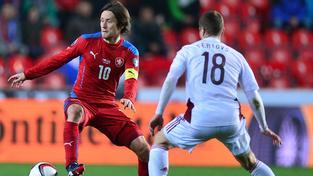 Kapitán české fotbalové reprezentace Tomáš Rosický