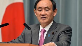 Mluvčí japonské vlády Jošihide Suga
