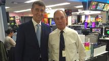 Babiš se setkal s mocným Bloombergem. Mluvili spolu o střetu zájmů v politice
