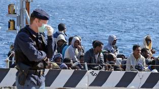 Havárie rybářské lodi ve Středozemním moři je velkou tragédií