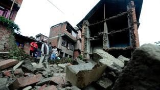 """Káthmándú zažilo naposledy velké zemětřesení v roce 2011, tehdy však dosahovalo """"jen"""" 6,8 stupně (snímek z roku 2011)"""