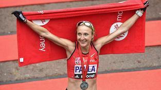 Držitelka světového rekordu Paula Radcliffová