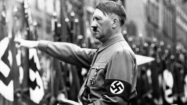 Adolf Hitler na snímku ze září 1937