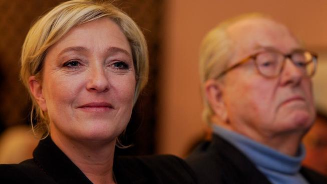Vztah Marine Le Pen a jejího otce Jean-Marie Le Pena začíná mít trhliny
