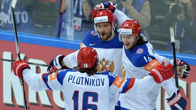 Rusové si všechny góly nechali až na třetí třetinu