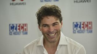 Dobře známý úsměv hokejové legendy
