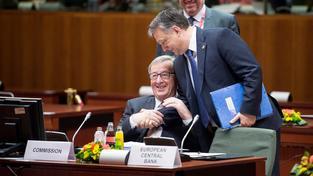 Juncker a Orbán v Bruselu