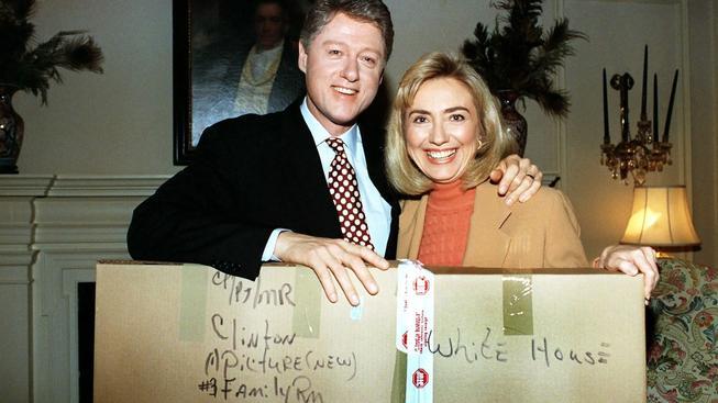 Bill a Hillary v roce 1993