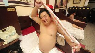 Číňané mají lázeňství ve velké oblibě. Ilustrační snímek