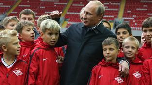 Vladimír Putin fotbal miluje