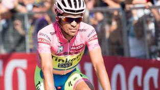 Alberto Contador předvádí na letošním Giru fantastický výkon