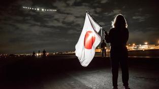 Start solárního letounu v Japonsku