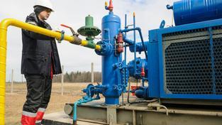 Ukrajina se s Ruskem hádají o slevu na zemní plyn. Ilustrační foto