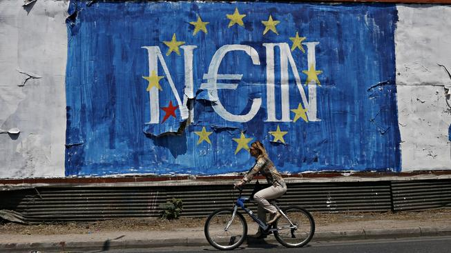 Po celém Řecku lidé vyjadřují svůj názor na nabídky věřitelů