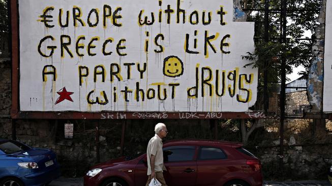 Řecko se nezaplacením dluhu dostalo do platební neschopnosti. V nedělním referendu budou lidé hlasovat o tom, zda přistoupí na podmínky věřitelů