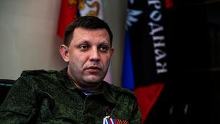 Alexandr Zacharčenko vyhlásil na 18. října v Doněcku volby