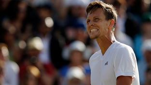 Tomáš Berdych se s Wimbledonem loučí