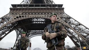 Francouzská armáda je v pohotovosti