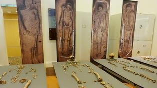Nález čtyř hrobů je významný pro studium raného amerického osidlování