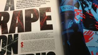 Článek o znásilnění v kampusu z magazínu Rolling Stone