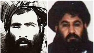 Muhammad Mansúr (vpravo) nahradil ve vedení Talibanu Muhammada Umara