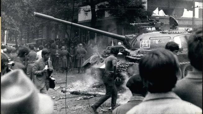 Česko si připomíná výročí vpádu vojsk Varšavské smlouvy