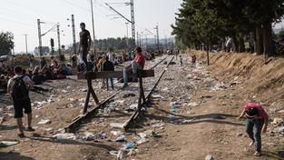Na makedonsko-řeckých hranicích opět došlo k incidentům mezi uprchlíky a policií