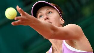 Tereza Smitková během French Open 2015