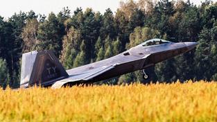 F-22 Raptor. Ilustrační snímek