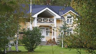 Dům finského premiéra nacházející se v Kembele na severozápadě země