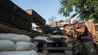 Z fronty na východě Ukrajiny by měla zmizet i děla ráže menší než 100 milimetrů (ilustrační snímek)