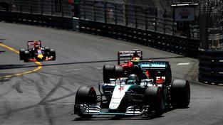 Německý jezdec Nico Rosberg během Velké ceny Monaka