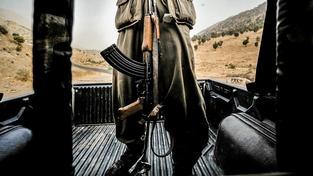 Kurdský bojovník z PKK na severu Iráku. Ilustrační snímek