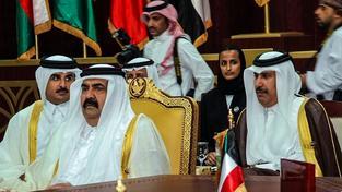 Hámid (na snímku není) je z rodu Sáníů, který Kataru vládne
