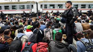 Evropa čelí největší uprchlické vlně za posledních několik desítek let