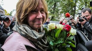 Běloruská spisovatelka Světlana Alexijevičová